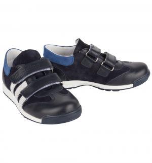Полуботинки , цвет: синий/черный Dandino