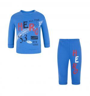 Комплект кофта/брюки , цвет: синий Tiger baby & kids