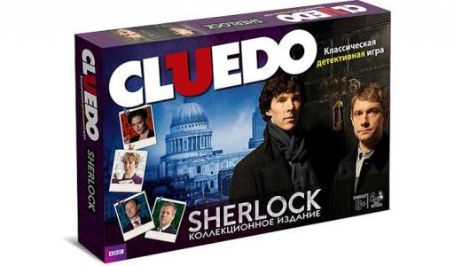 Gaming Настольная игра Cluedo Шерлок Hasbro
