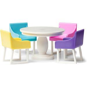 Мебель для домика  Базовый набор столовой Lundby. Цвет: разноцветный