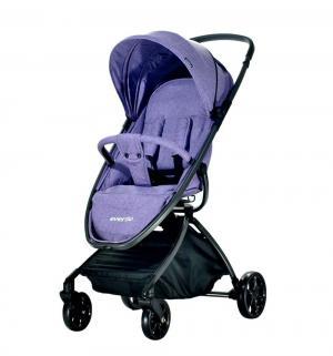 Прогулочная коляска  Easy guard E-338, цвет: purple Everflo