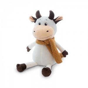 Мягкая игрушка  Бычок Афоня в шарфе 28 см Maxitoys