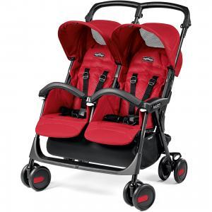 Прогулочная коляска для двойни Peg-Perego Aria Shopper Twin, Mod Red Peg Perego