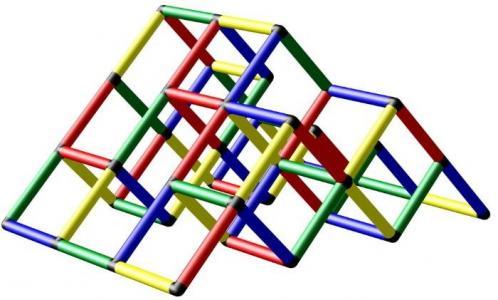 Конструктор крупногабаритный Climbing pyramid Quadro