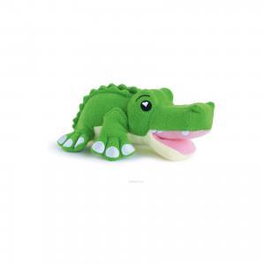 Губка для тела Крокодил Хантер, SoapSox. Цвет: зеленый