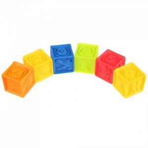 Игрушки для купания Кубики 6 шт. Играем вместе