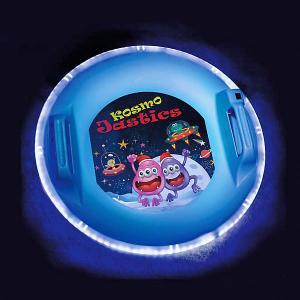 Ледянка Олимпик Kosmojastics, с подсветкой Цикл. Цвет: голубой