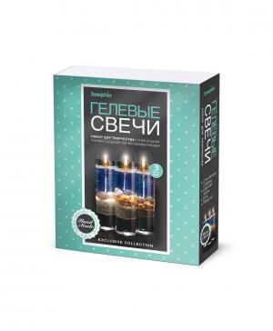 Гелевые свечи с ракушками Набор №3 Josephin