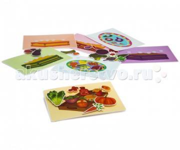 Развивающая игрушка  Пазл-липучка Овощи Pic`n Mix