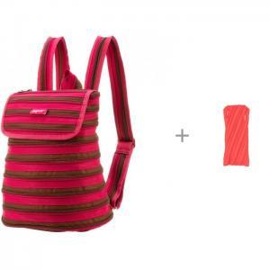 Рюкзак Zipper Backpack с пеналом-сумочкой Neon Pouch Zipit