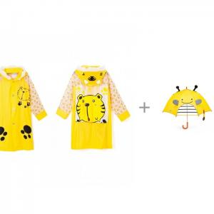 Дождевик Тигренок с детским зонтиком Skip-Hop Zoo Пчела Ami&Co (AmiCo)