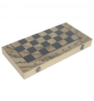 Настольная игра  Шахматы шашки нарды поле Наша Игрушка