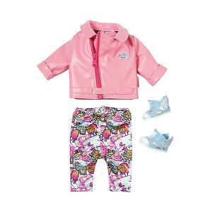 Одежда для куклы  Baby born Костюм скутериста Zapf Creation
