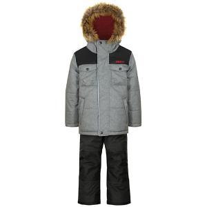 Комплект : куртка и полукомбинезон Gusti. Цвет: серый