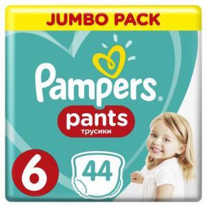 Подгузники-трусики Pants Extra Large р.6 (15+ кг) 44 шт. Pampers