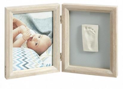 Рамка двойная Классика беленое дерево Baby Art
