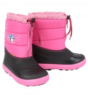 Сноубутсы  Kenny, цвет: розовый Demar