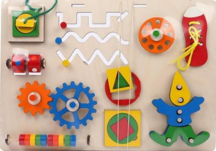 Деревянная игрушка  Бизиборд Развивайка 170-005 Крона