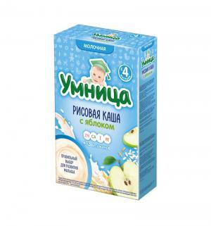 Каша  молочная рисовая с яблоком 4 месяцев 200 г 1 шт Сами усами