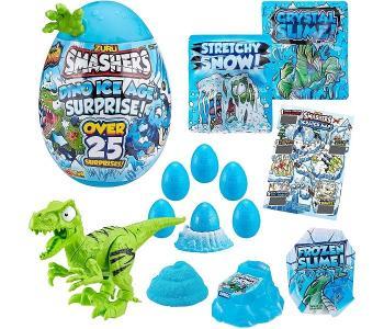 Игрушка Гигантское яйцо динозавра Ледниковый период Zuru Smashers