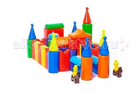 Развивающая игрушка  Строительный набор Кремль-2 55 элементов СВСД