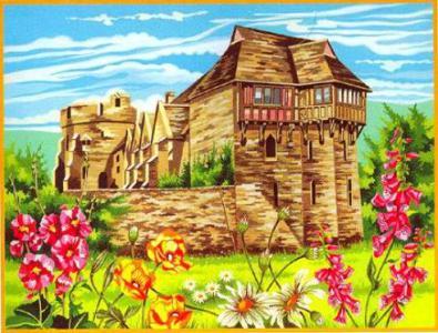Набор для раскрашивания Замок Stokesay Reeves