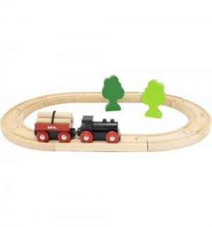 Железная дорога  с грузовым поездом 96 см Brio