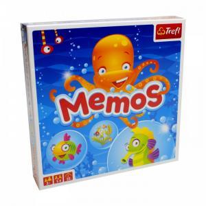 Настольная игра Мемос Морские обитатели Trefl
