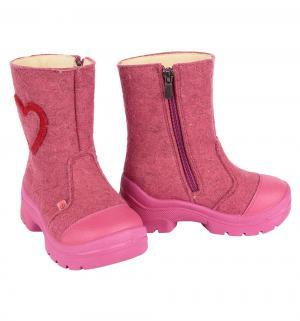 Валенки  Сердце, цвет: розовый Филипок