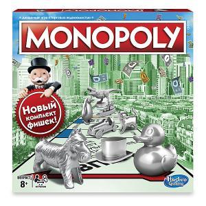 Настольная игра  Games Классическая монополия (обновленная версия) Hasbro