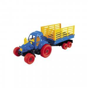 Трактор с прицепом, Нордпласт