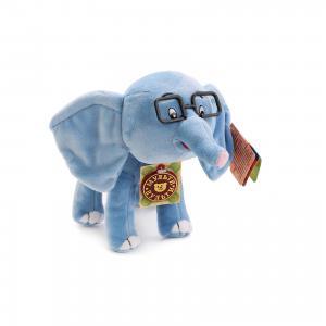 Мягкая игрушка Слоненок, 38 попугаев, со звуком, Мульти-пульти