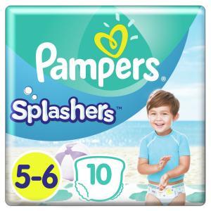 Трусики-подгузники  Splashers, р. 05.июн, 14+ кг, 10 шт Pampers