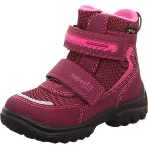 Утепленные ботинки Superfit. Цвет: красный