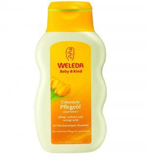 Масло с нежным ароматом  календулой Weleda