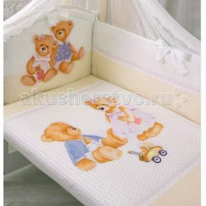 Комплект в кроватку  Sweety Bear (7 предметов) Золотой Гусь