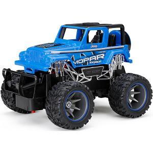 Радиоуправляемая машинка  Truck 1:24, синяя New Bright. Цвет: синий