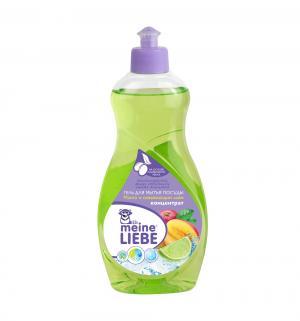 Гель-концентрат для мытья посуды  Манго и лайм, 500 мл Meine Liebe