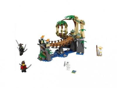 Конструктор  Ninjago 70608 Лего Ниндзяго Битва Гармадона и Мастера Ву Lego