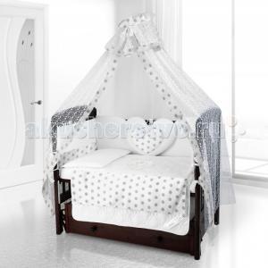 Комплект в кроватку  Cuore Grande Anello (6 предметов) Beatrice Bambini