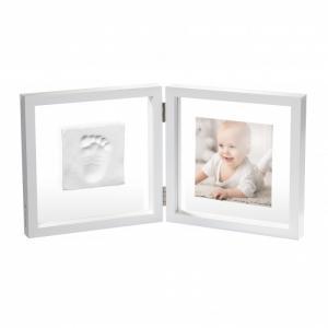 Рамочка двойная прозрачная Baby Style с отпечатком Art