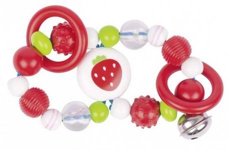 Развивающая игрушка  Игрушка-кольцо эластик Восьмёрка Клубника Heimess