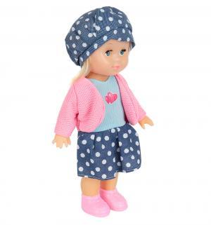 Кукла  в одежде, цвет: синий 25 см S+S Toys
