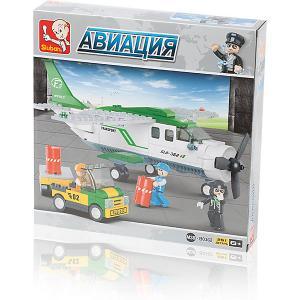 Конструктор  Авиация: Грузовой самолёт, 251 деталь Sluban. Цвет: разноцветный