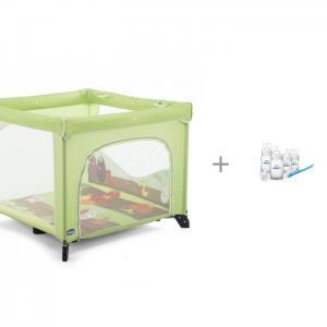 Манеж  Open box и Набор для новорожденных Philips-Avent Classic + Chicco