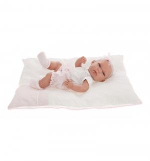 Кукла-младенец  Марсела в белом 33 см Juan Antonio
