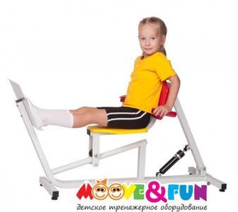 Детский тренажер Жим ногами Moove&Fun
