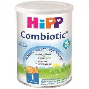 Молочная смесь  Combiotik 1 0-6 месяцев, 350 г Hipp