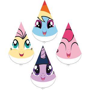 Набор колпачков для праздника My Little Pony Любимый пони 4шт. Daisy Design