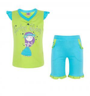Комплект кофта/шорты , цвет: зеленый Tiger baby & kids